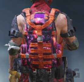 Backpack Supernova, Rare camo in Call of Duty Mobile