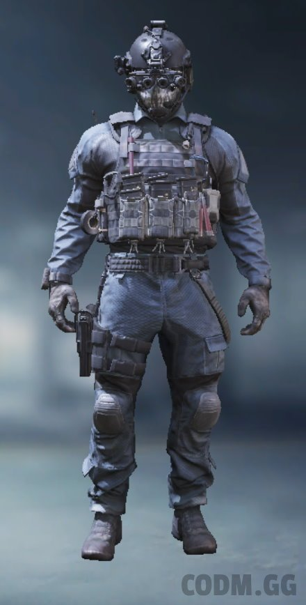 Keegan, Epic Soldier in Call of Duty Mobile