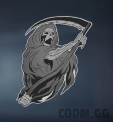 Mors Mihi Lucrum, Rare Sticker in Call of Duty Mobile