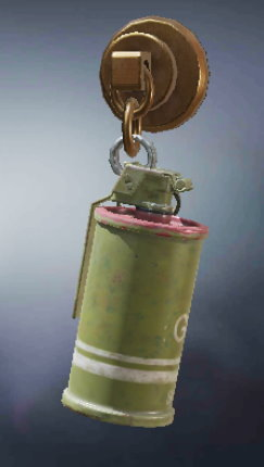 Charm - Smoke Grenade, Rare Charm in Call of Duty Mobile