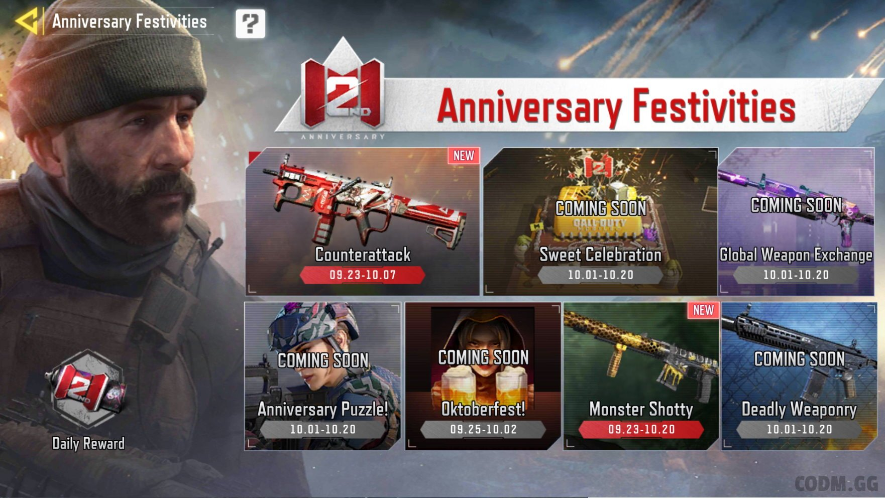 Season 8/21 and 2nd Anniversary Celebrations NOW LIVE!