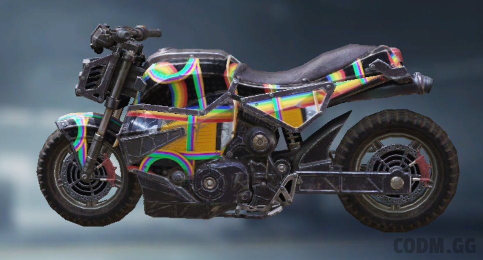 Motorcycle Rewind, Uncommon camo in Call of Duty Mobile
