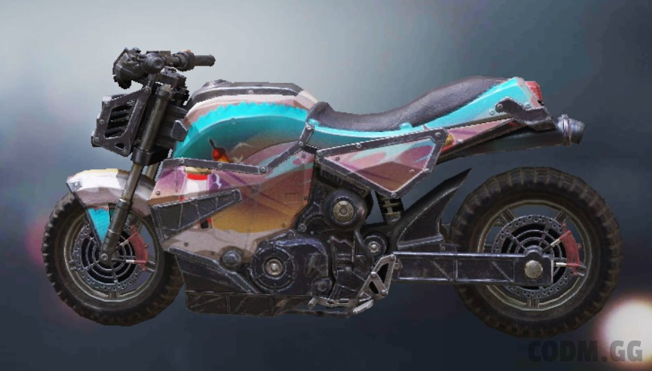 Motorcycle Lighthouse, Uncommon camo in Call of Duty Mobile