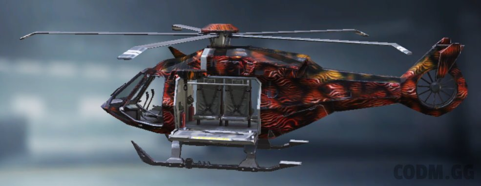 Helicopter Warmth, Uncommon camo in Call of Duty Mobile