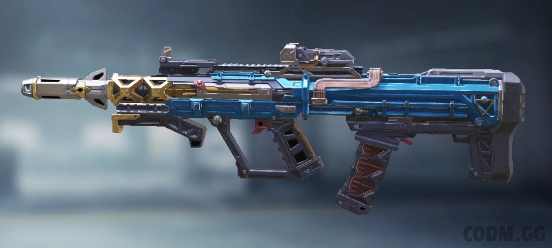 AGR 556 Steel Blue, Epic camo in Call of Duty Mobile