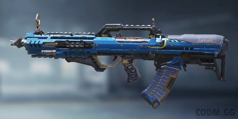 Type 25 Steel Blue, Epic camo in Call of Duty Mobile