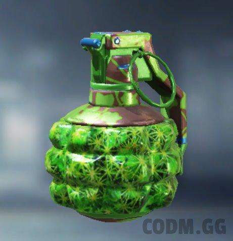 Frag Grenade Vine Growth, Rare camo in Call of Duty Mobile