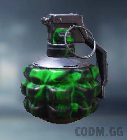Frag Grenade Repellent, Uncommon camo in Call of Duty Mobile