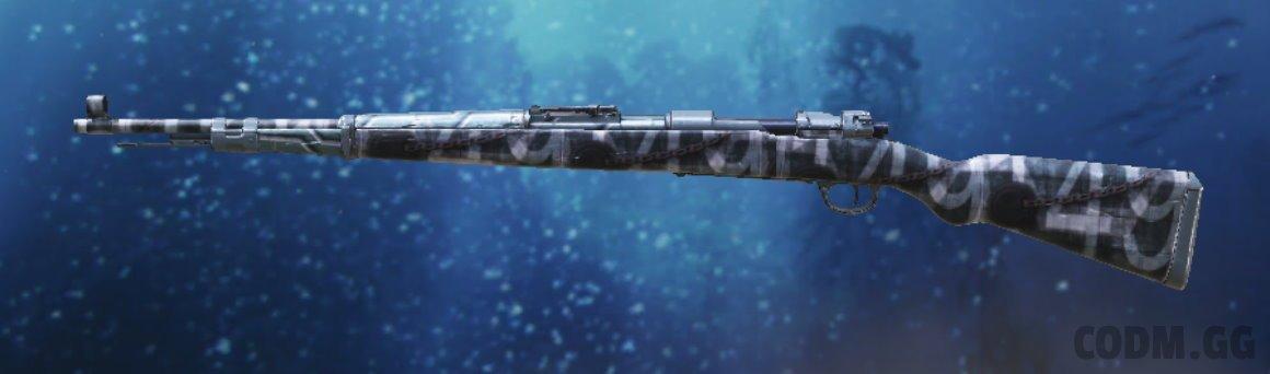 Kilo Bolt-Action Warship, Rare camo in Call of Duty Mobile