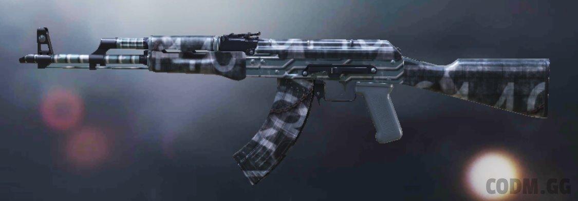 AK-47 Warship, Rare camo in Call of Duty Mobile