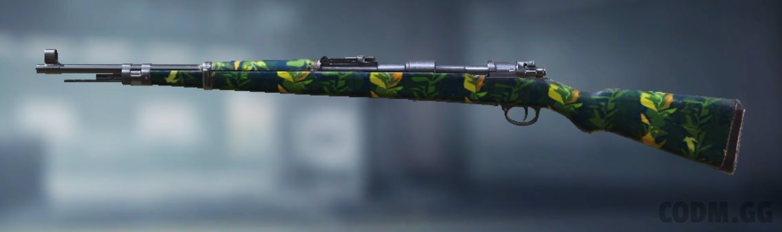 Kilo Bolt-Action Seaweed, Uncommon camo in Call of Duty Mobile