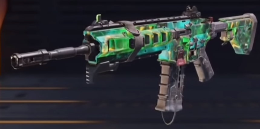 Cosmos, epic ICR-1 blueprint in Call of Duty Mobile | CODM.GG