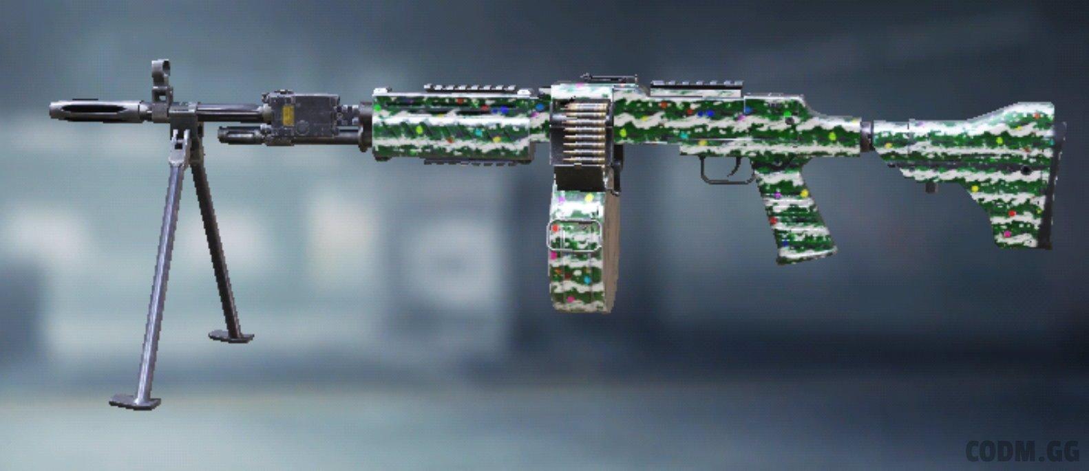 RPD Festive, Epic camo in Call of Duty Mobile
