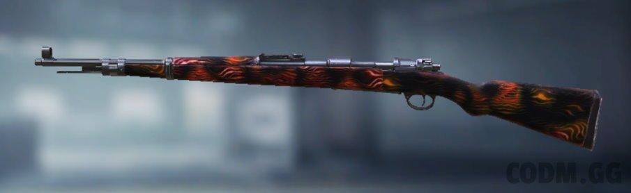 Kilo Bolt-Action Warmth, Uncommon camo in Call of Duty Mobile